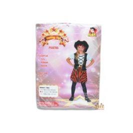 MaDe Šaty na karneval - pirátka 120 - 130 cm