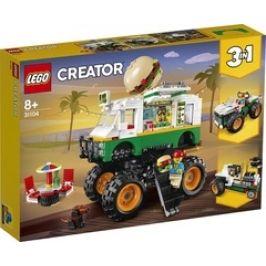 Lego Creator 31104 Hamburgerový monster truck