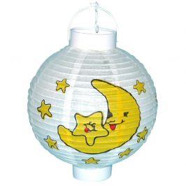Wiky Wiky Lampion měsíc a hvězdy na baterie