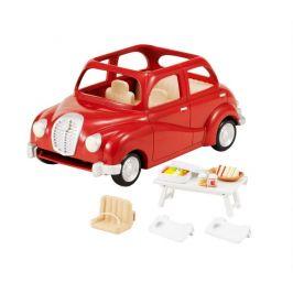Alltoys Rodinné auto červené