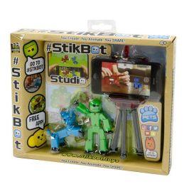 EPline Stikbot sada figurka + zvířátko se stativem