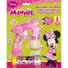 Alltoys Bublifuková pistole Disney Minnie velká + bublifuk 60 ml