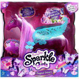 Alltoys Magícký svítící jednorožec Sparkle Girlz