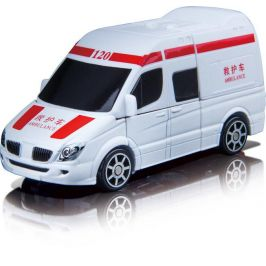Alltoys Robocarz 2v1 (Ambulance) - 11,5 cm