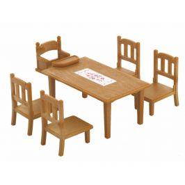 Alltoys Nábytek - jídelní stůl se židlemi