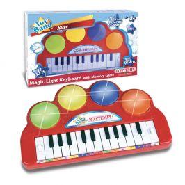 Alltoys Bontempi Elektronické klávesy se světelnou hudbou