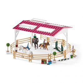 Alltoys Jezdecká škola s jezdci a koňmi