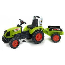 Alltoys Traktor šlapací Claas Arion 430 s valníkem zelený