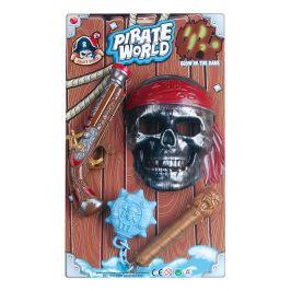 Alltoys Pirátská sada maska bambitka palcát co svítí ve tmě.