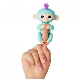 Alltoys Fingerlings - Opička Zoe, tyrkysová