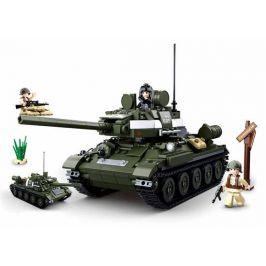 Alltoys WWII Tank T34 nebo T85 - 2v1