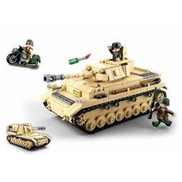 Alltoys WWII Tank Panzer IV. - 2v1