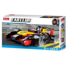 Alltoys Sluban B0352 Formule F1 Racing Car Stříbrná 257 ks