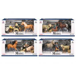 Alltoys EP Line Series Model Svět zvířat Farmářská sada pelikán a jehně