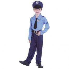 Alltoys Kostým policista,110-120 cm