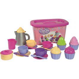 Alltoys Androni Kávový set s dortíky a úložným boxem