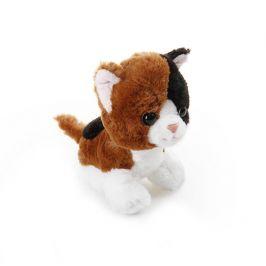 EPline Plyšové zvířátko Hnědá kočička 17 cm
