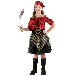 Alltoys Kostým Pirátka,velikost 110-120 cm