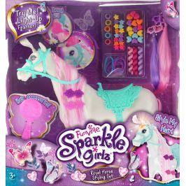 Alltoys Stylingová sada se svítícím koněm Sparkle Girlz