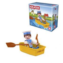 Igráček EFKO IGRÁČEK Námořník s lodičkou