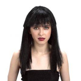 Alltoys Paruka černá - dlouhé vlasy
