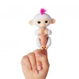Alltoys Fingerlings - Opička Sophie, bílá