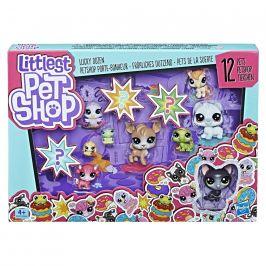 Littlest Pet Shop Hasbro Littlest Pet Shop Velké balení 13 ks zvířátek