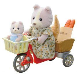 Alltoys Psí rodinka na kole