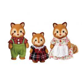 Alltoys Rodina - rodina červené pandy
