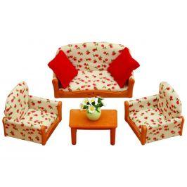 Alltoys Nábytek - sedací souprava se stolečkem