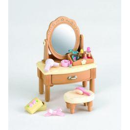 Alltoys Nábytek - zrcadlový stolek se židličkou