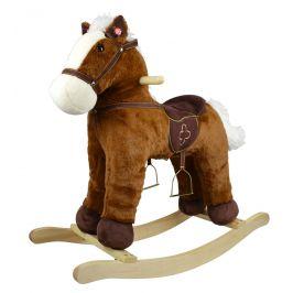 Alltoys Houpací poník hnědý 46 cm