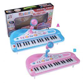 Alltoys HM Studio Elektronické klávesy 37 kláves Modré
