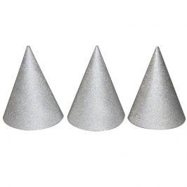 Wiky Wiky Párty kloboučky stříbrné 6ks