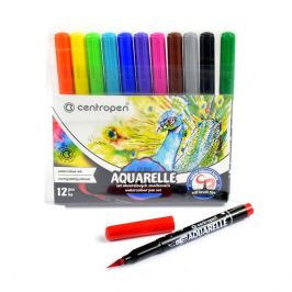 Centropen Fixy 8683/12 Aquarelle