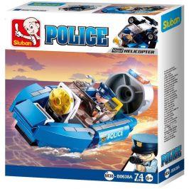 Sluban Sluban Policie 4into1 M38-B0638A Vznášedlo