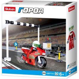 Sluban Sluban Town Motorky M38-B0717A Závodní motorka