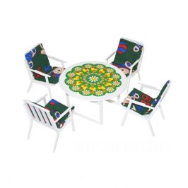 Wiky Wiky Set stolek a židle